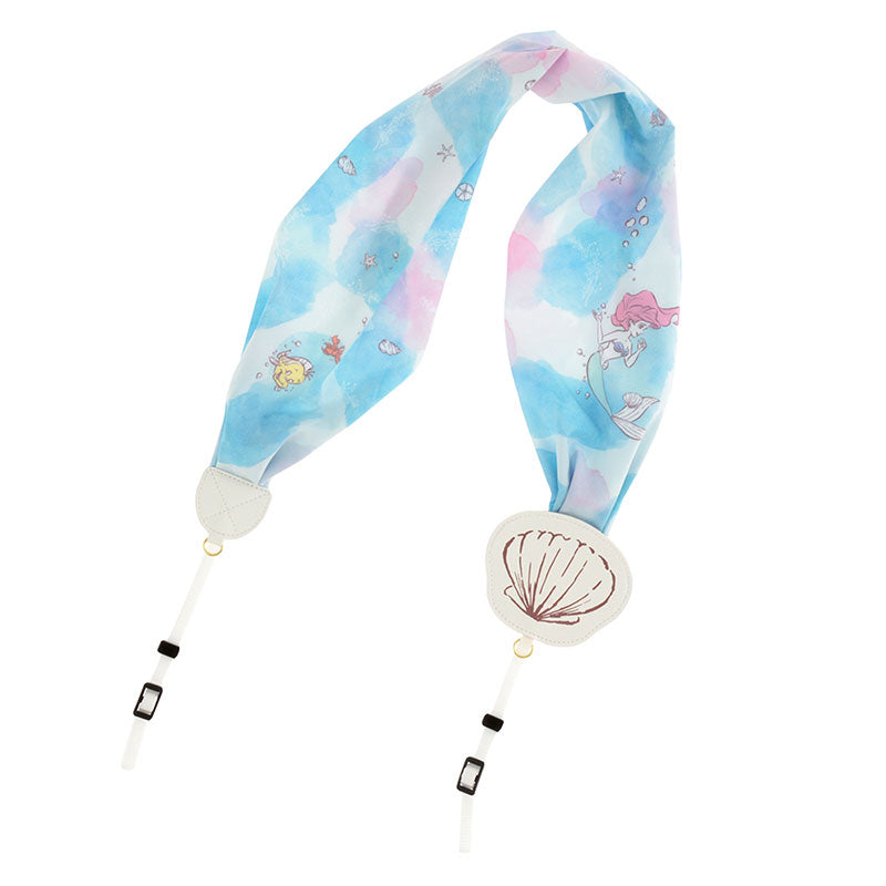 Little Mermaid Ariel Camera Strap Scarf style Disney Store Japan
