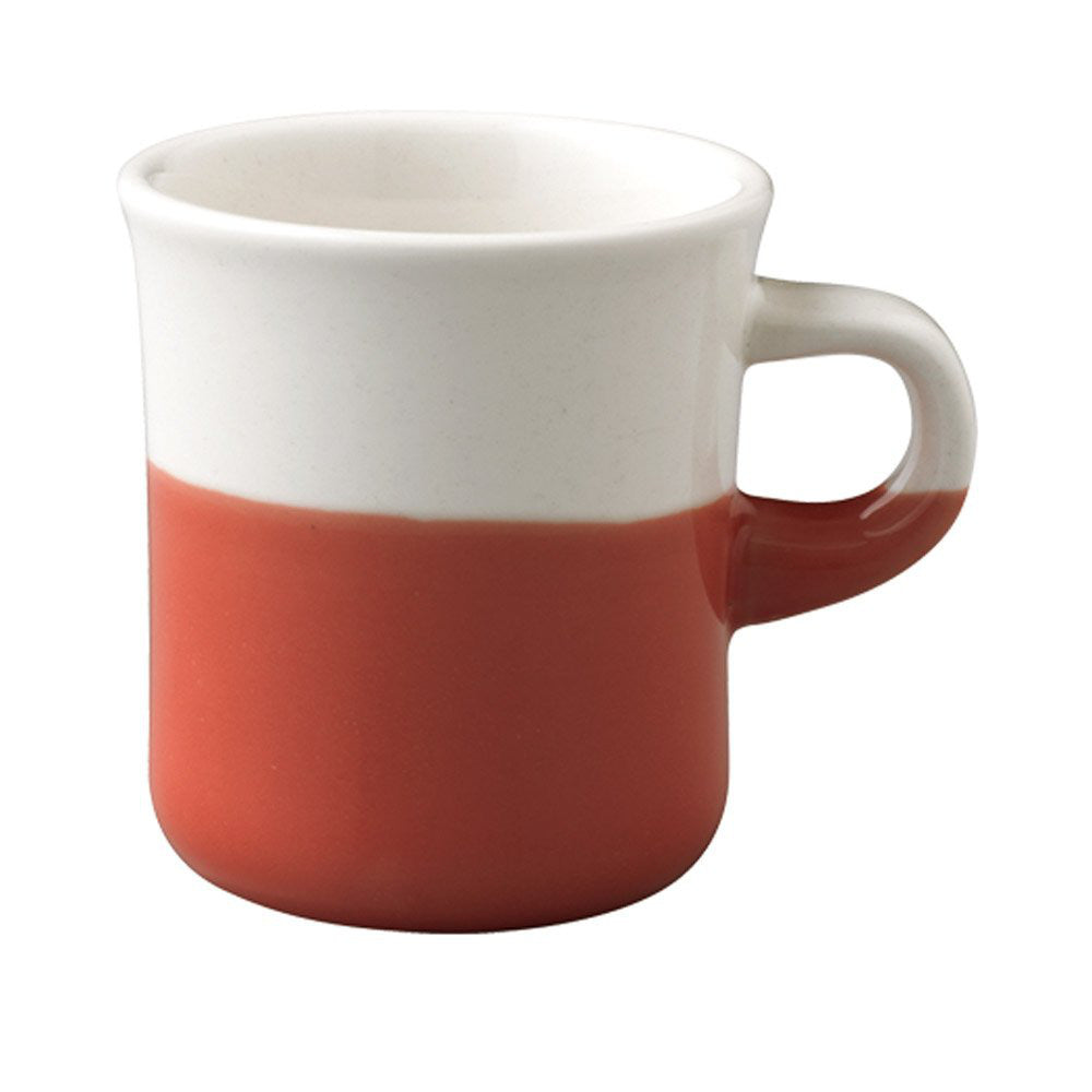 SLOW COFFEE STYLE Mug Cup 250ml Red Half KINTO Japan 27662