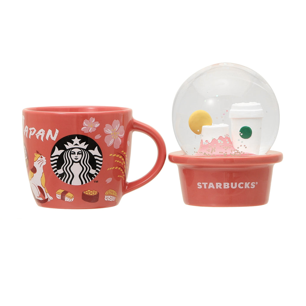 Mug Cup Snow Globe 89ml New Year 2021 Starbucks Japan