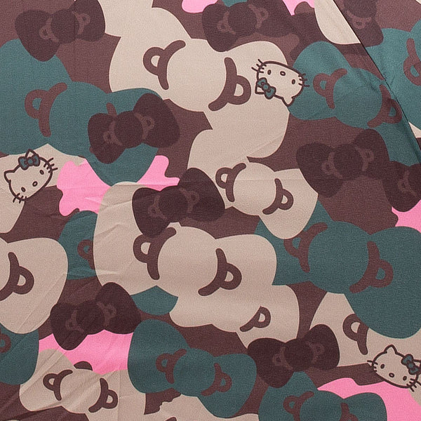 Hello Kitty Folding Umbrella Camouflage Sanrio Japan