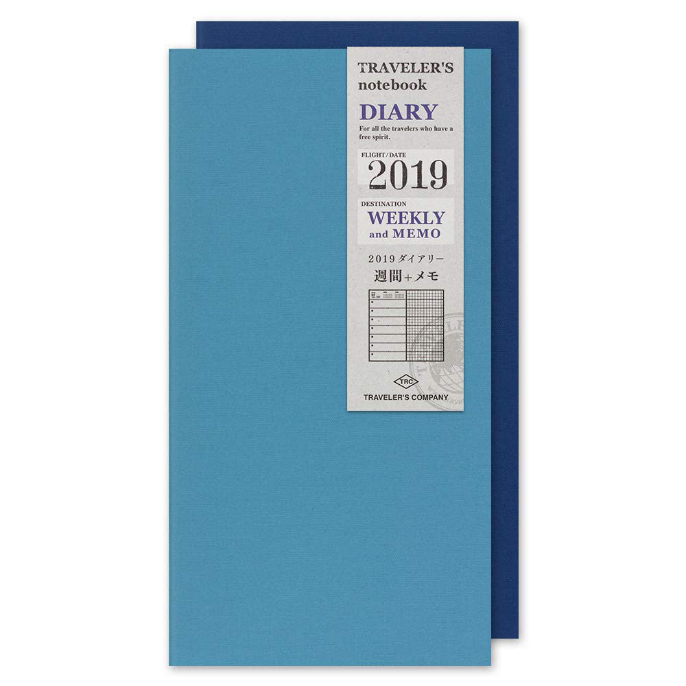 Refill Diary 2019 Weekly Regular size TRAVELER'S Notebook Japan Midori 14395006
