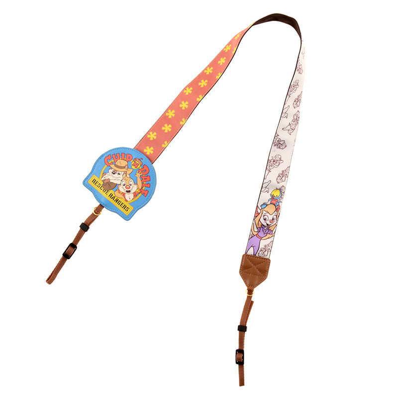 Chip & Dale Camera Strap Rescue Rangers 2019 Disney Store Japan