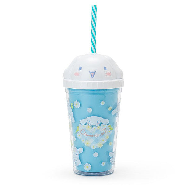 Cinnamoroll Straw Tumbler Clear Cup Sanrio Japan