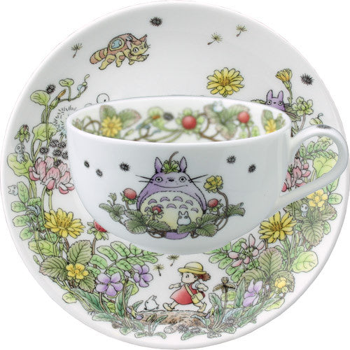 My Neighbor Totoro Tea Cup Sorcerer Ghibli Noritake Japan Strawberry Gift Box