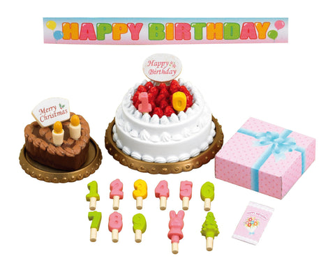 Furniture Birthday Cake Set Ka-416 Sylvanian Families Japan