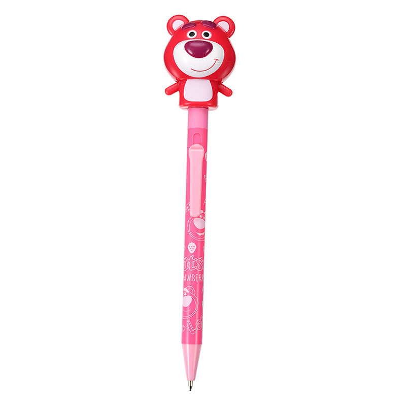 LOTS O HUGGIN Ballpoint Pen Pink Stationery Pyoko Disney Store Japan Toy Story