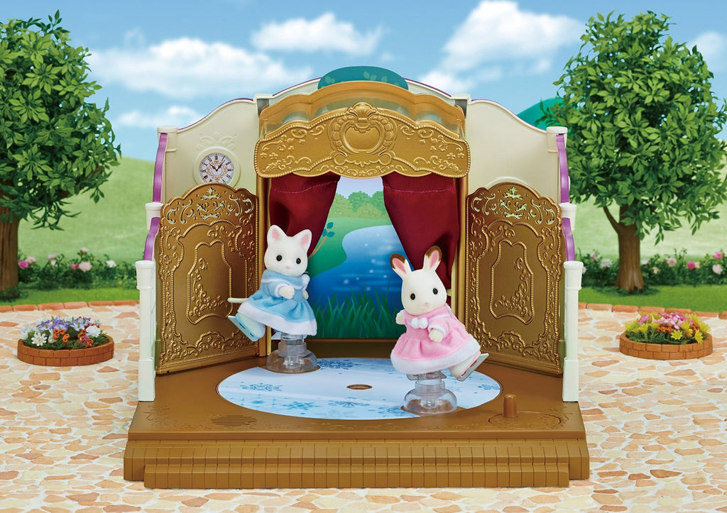 Sylvanian Families MI-82 Forest Valley Theater Set Japan Calico Critters Epoch