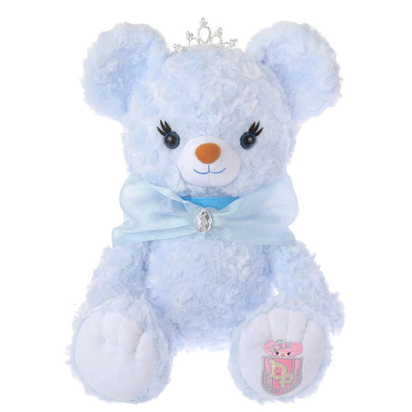 UniBEARsity Blue Rose Plush Doll Disney Store Japan Princess BEAR Cinderella