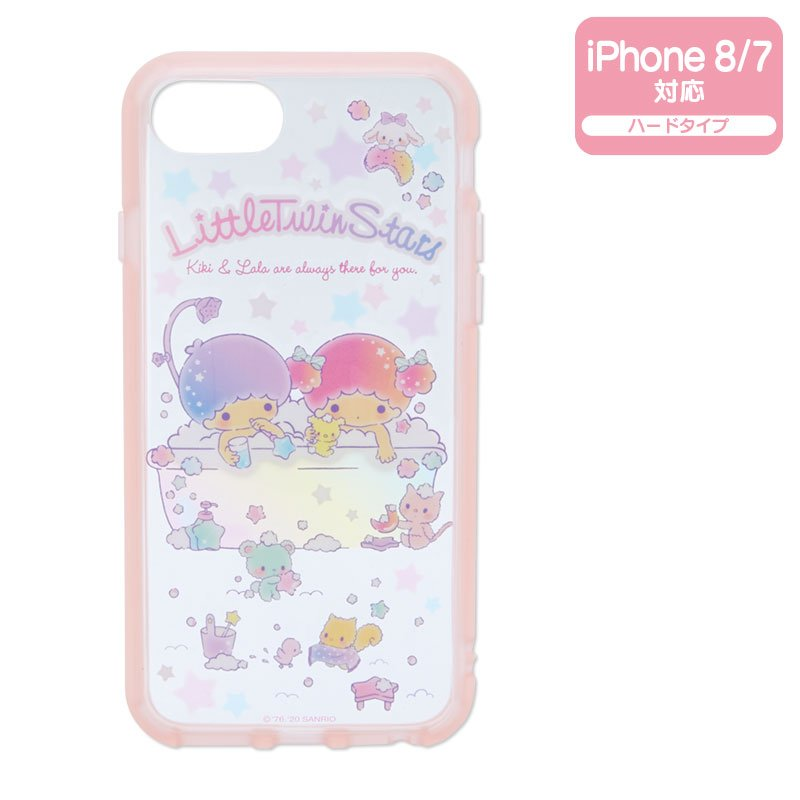 Little Twin Stars Kiki Lala iPhone 7 8 Case Cover IIIIfi+ Clear Sanrio Japan