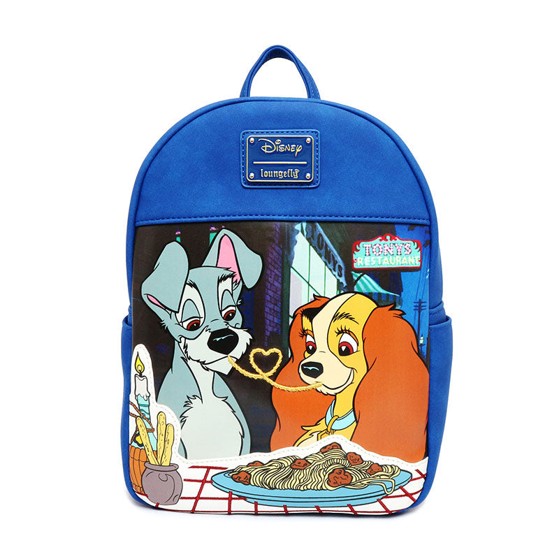 Lady and the Tramp Backpack Loungefly Disney Store Japan