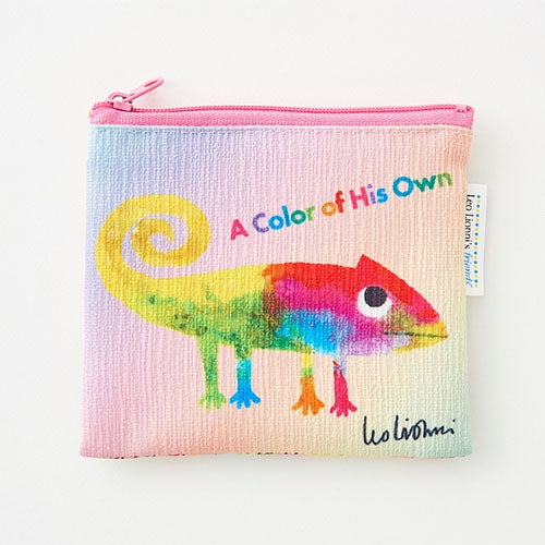 A Color of His Own Chameleon Pocket Tissue Pouch Leo Lionni Japan