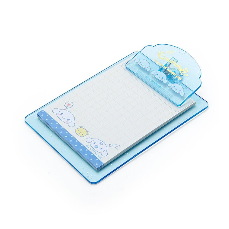 Cinnamoroll mini Clipboard & Memo Face Sanrio Japan