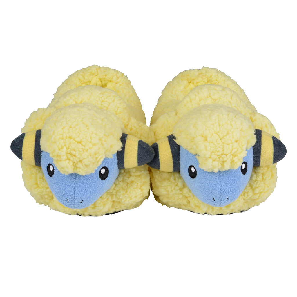 Mareep Plush Slippers Room Shoes MR MOFU-MOFU PARADISE Pokemon Center Japan