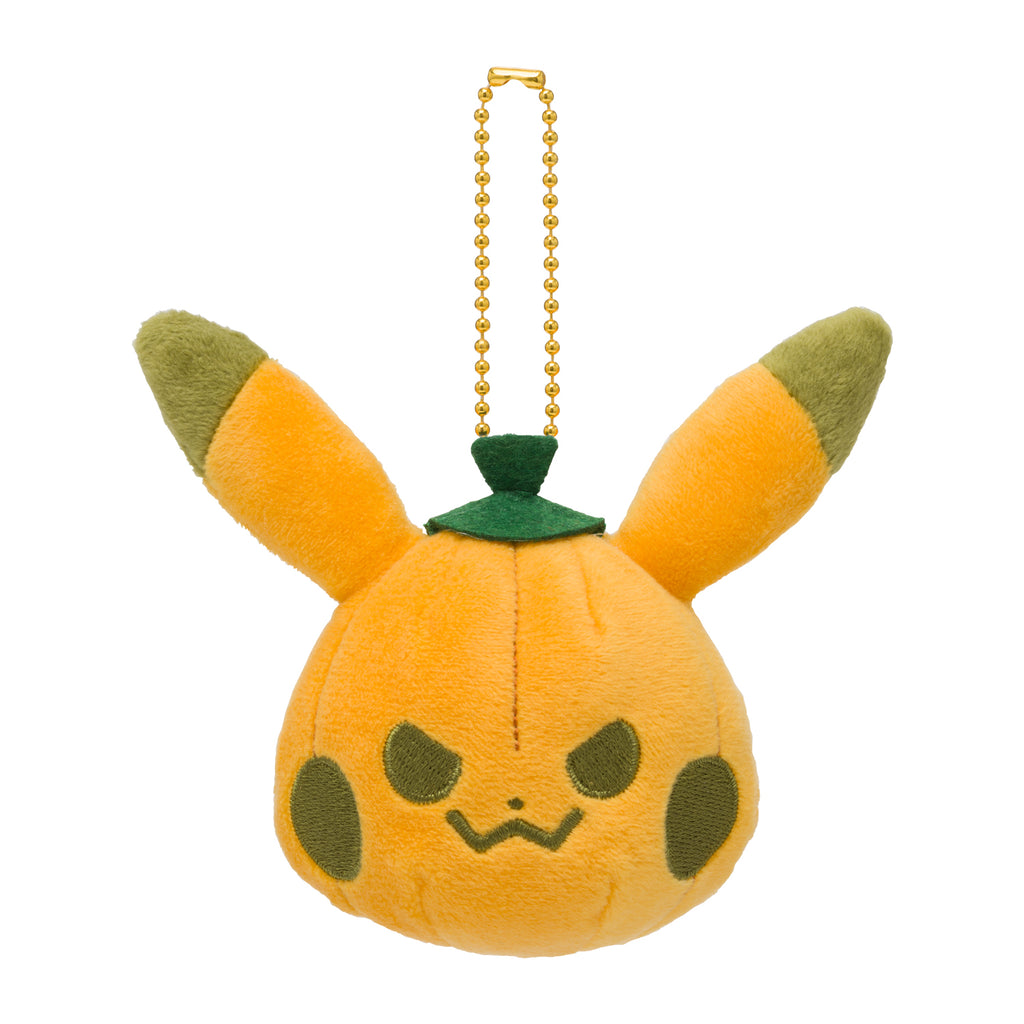 Pikachu Pumpkin Plush Keychain Halloween Galar Garden Pokemon Center 2020 Japan