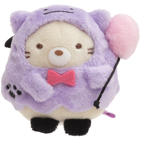 Sumikko Gurashi Neko Cat mini Tenori Plush Doll Halloween 2019 San-X Japan