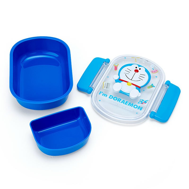 Lock Lunch Box Bento Relief I'm DORAEMON Sanrio Japan