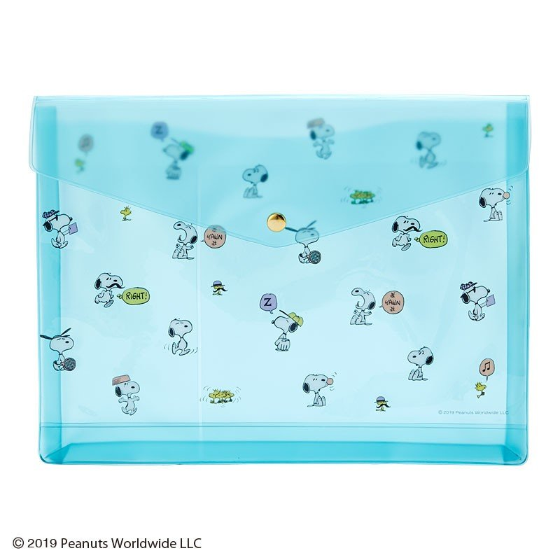 Snoopy PVC Clear Multi Case PEANUTS Sanrio Japan 2019