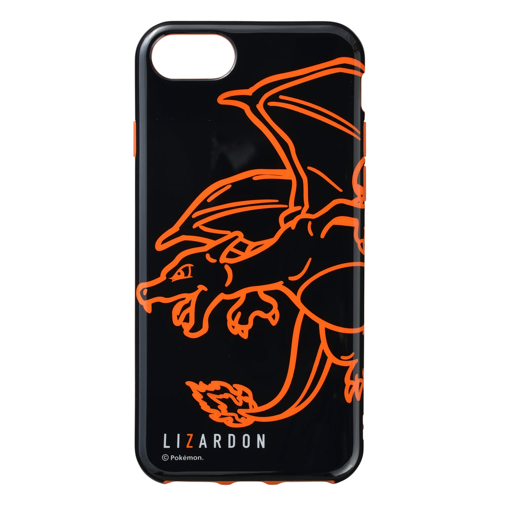 Charizard Lizardon iPhone 6s 7 8 Case Cover Soft NeonColor Pokemon Center Japan