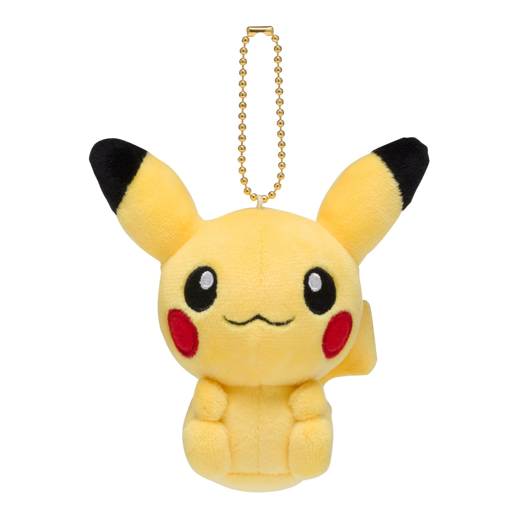 Pikachu Mocchiri Soft Plush Mascot Keychain POKEMON DOLLS Japan Center