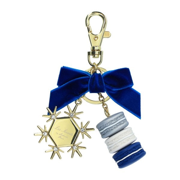 Keychain Key Holder Frocon & Fleur de Neige Macaroon Laduree Japan Limit 2020
