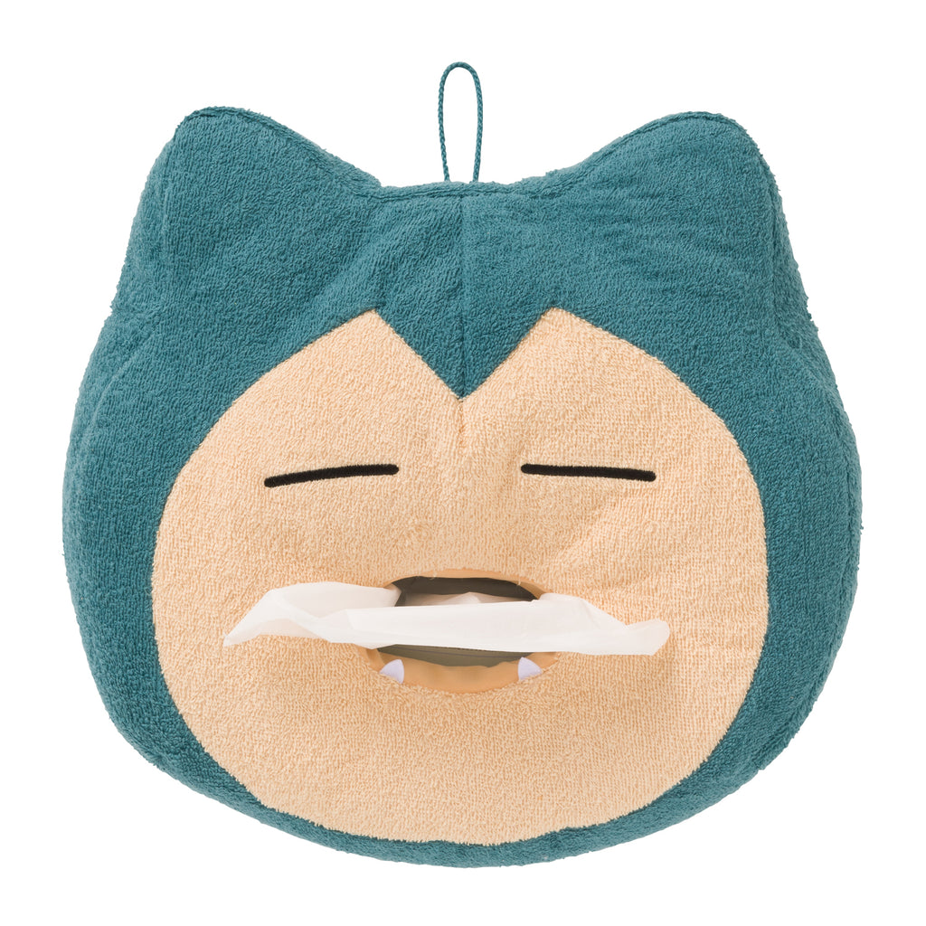 Snorlax Yawn Kabigon Plush Tissue Box Cover Pokemon Center Japan Original