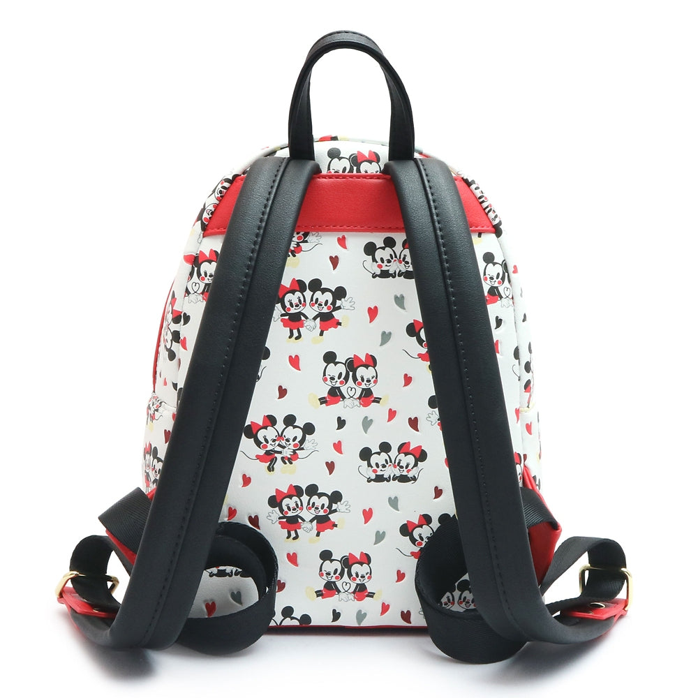 Mickey & Minnie mini Backpack Heart Loungefly Disney Store Japan