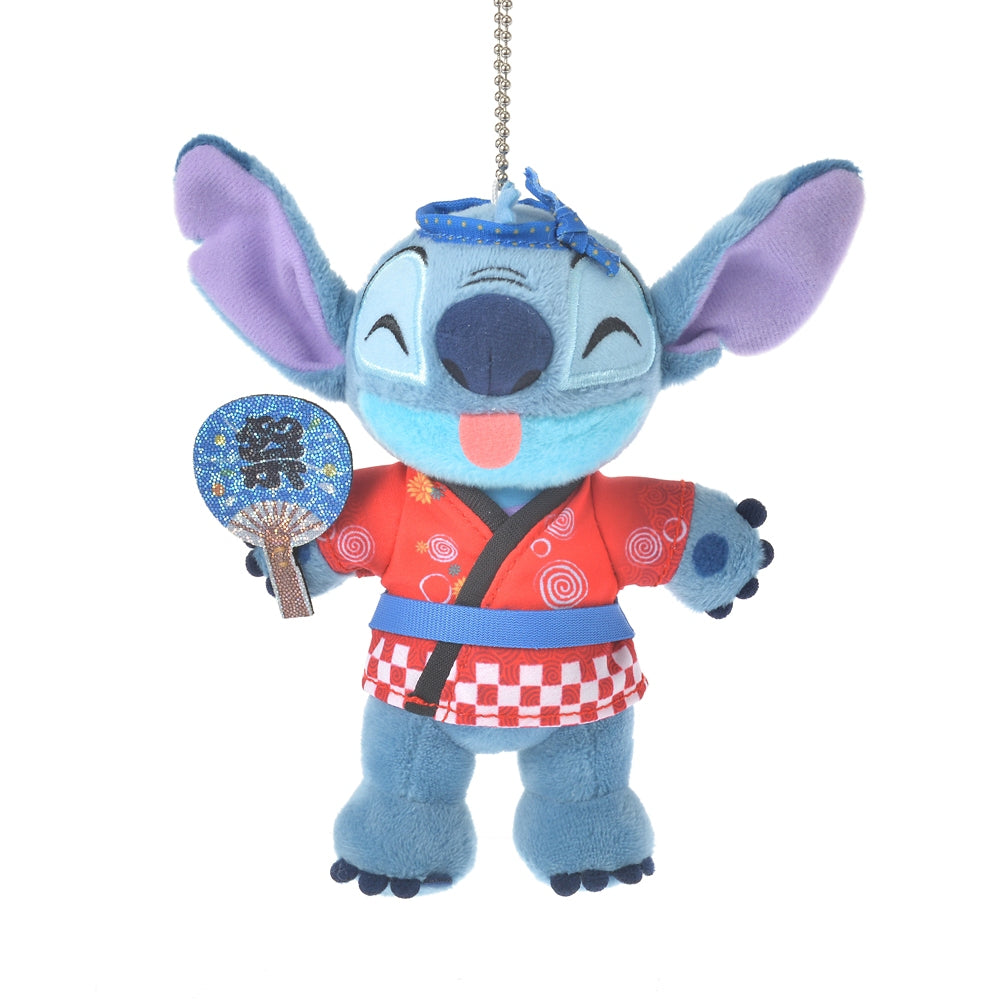 Stitch Plush Keychain Japan Culture Disney Store
