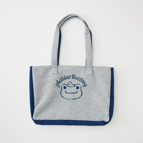 Pickles the Frog Collection Bag for Bean Doll Plush Gray Japan