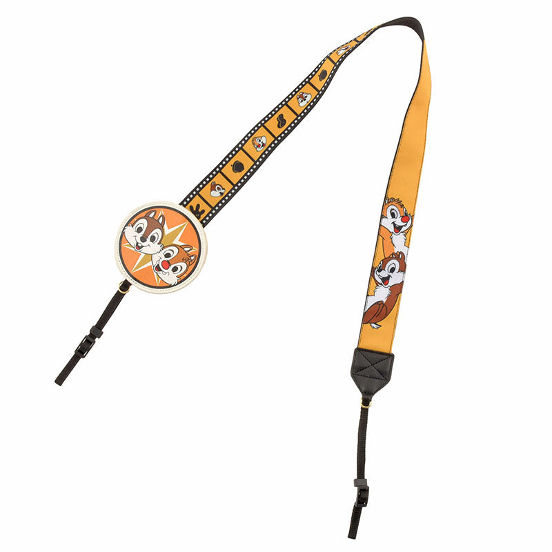 Chip & Dale Camera Strap Film Disney Store Japan