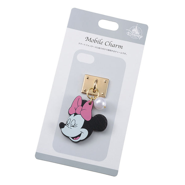 Minnie Charm for Smartphone Case good laugh Disney Store Japan