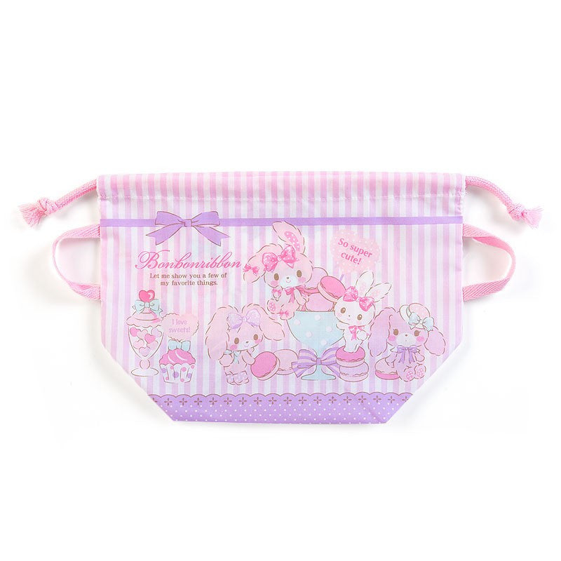 Bonbonribbon Drawstring Lunch Bag Party Sanrio Japan