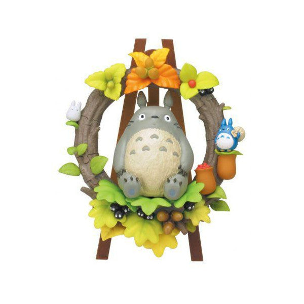 33 pieces My Neighbor Totoro Wreath Kumukumu 3D Puzzle Studio Ghibli Japan