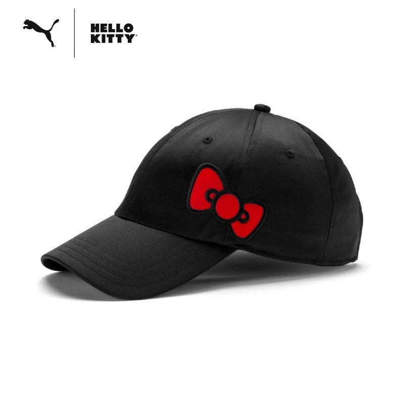 Hello Kitty PUMA Cap Black Sanrio Japan