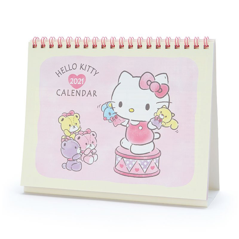 Hello Kitty Ring Desktop Calendar 2021 Sanrio Japan