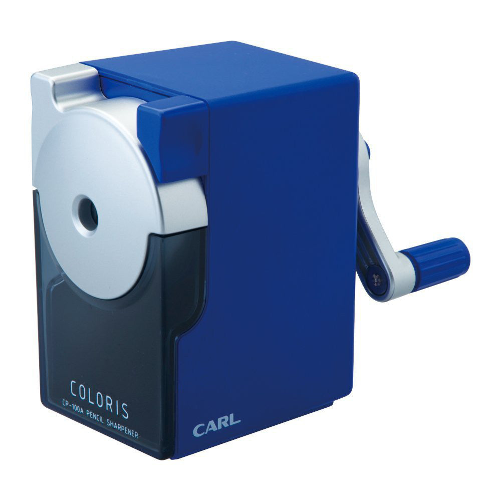 CARL Pencil Sharpener Kararisu CP-100A-B Blue Japan