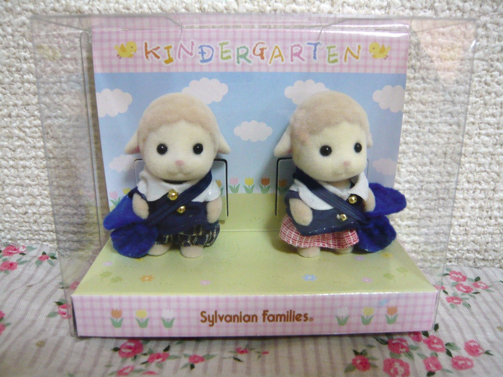 Sylvanian Families Baby Pair - Kindergarten Sheep Japan (Calico Critters)