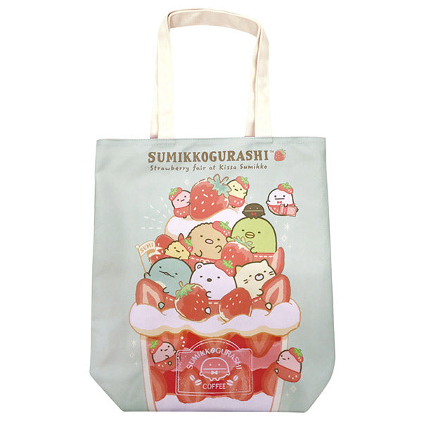 Sumikko Gurashi Tote Bag Strawberry Fair San-X Japan 2020
