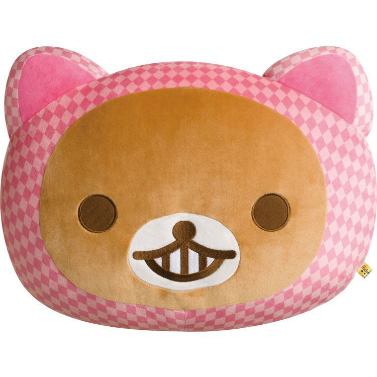 Rilakkuma Cushion Alice in Wonderland Super Mochi Soft San-X Japan
