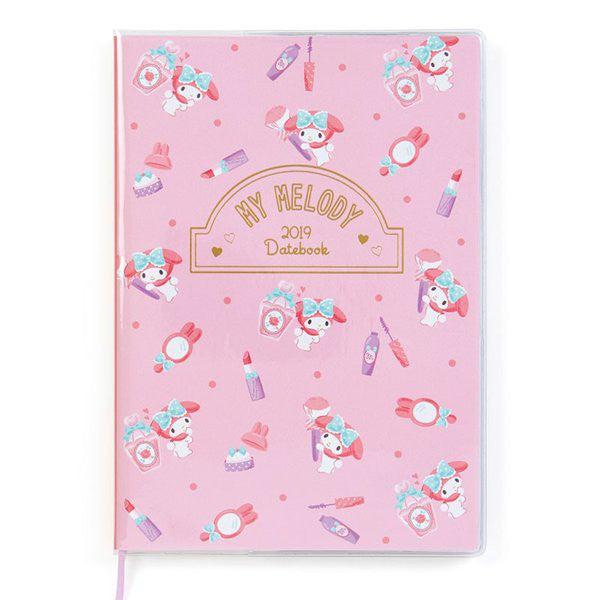 My Melody 2019 Schedule Planner Book B6 Monthly Sanrio Japan