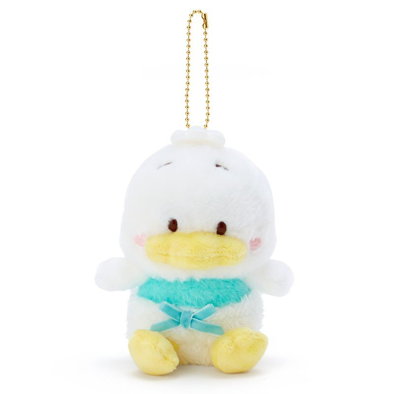 Ahiru no Pekkle Plush Mascot Holder Keychain Angel Sanrio Japan 2019
