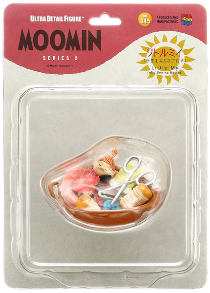 Little My with Sewing Basket UDF Figure MOOMIN Series 2 Ultra Detail Figure