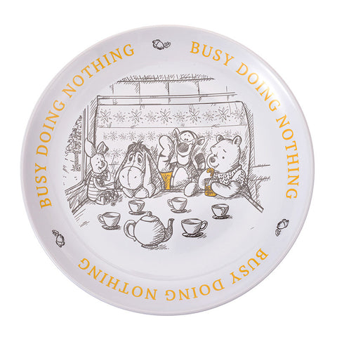 Winnie the Pooh & Friends Plate Christopher Robin Disney Store Japan