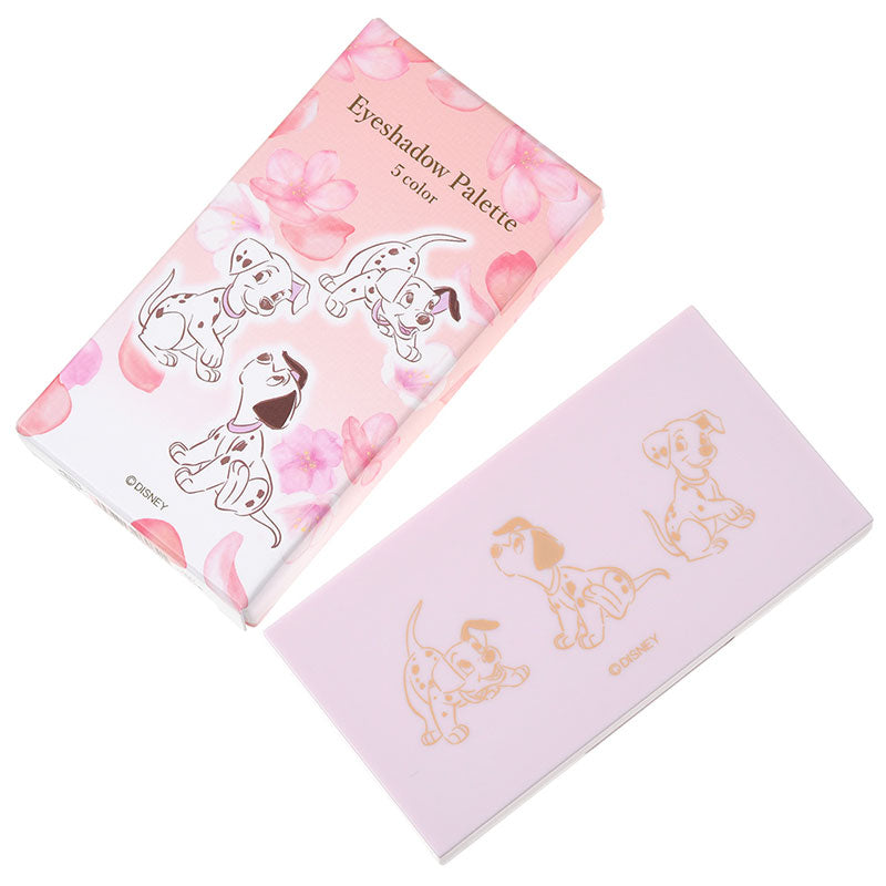 101 Dalmatians Eye Shadow Witch's Pouch Pink Palette SAKURA Disney Store Japan