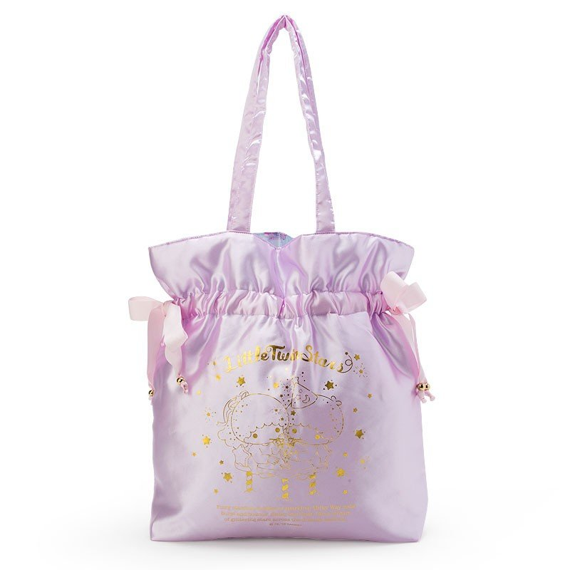 a514711ed Little Twin Stars Drawstring Bag Reversible Milky Way Soda Sanrio Japan