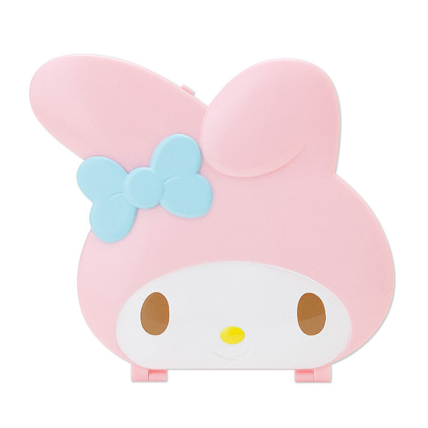 My Melody face-type Folding Mirror pink Sanrio Japan