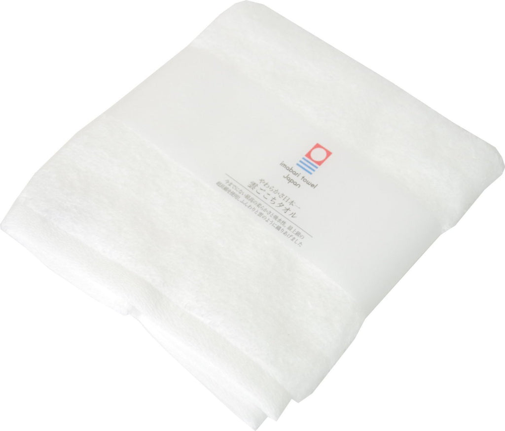 Hand Towel White Super Soft Cloud Imabari Towel Japan