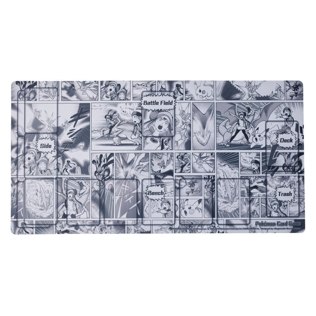 Play Mat for Pokemon Card Game Yusuke Murata Comic Japan Original
