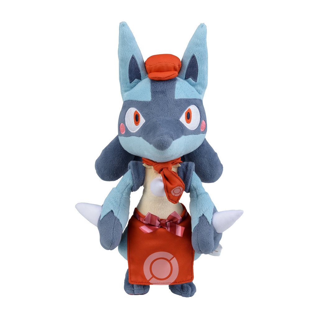 Lucario Plush Doll Pokemon Cafe Mix Center Japan