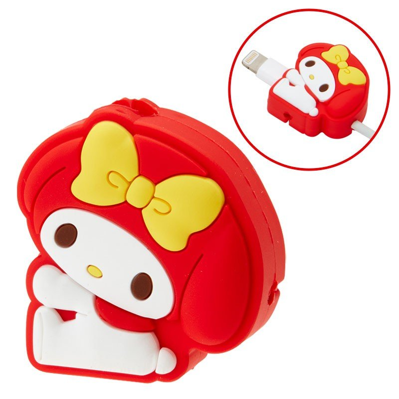 My Melody Cable Protection for iPhone Red Sanrio Japan Cross type