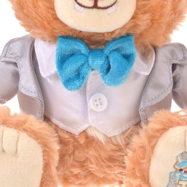 UniBEARsity Blanc Dale Plush Doll SS 7th Anniversary Top Hat Disney Store Japan